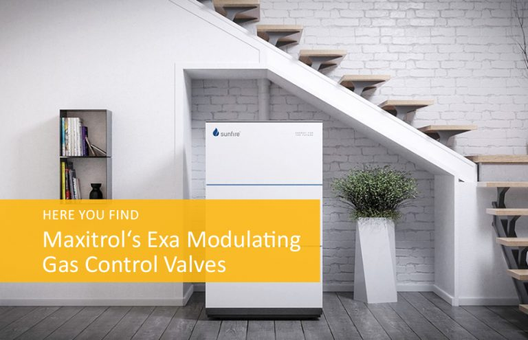 Renewable Power Source now includes Maxitrol's Exa Modulating Valves